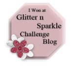 Glitter N Sparkle Challenge 24 Winner