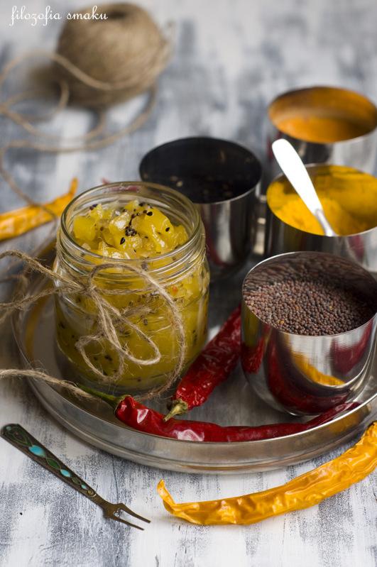 Chutney z ananasem przepis