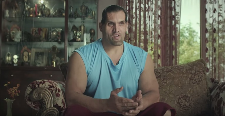 The Great Khali Stars In This Hilarious Ad For Cement