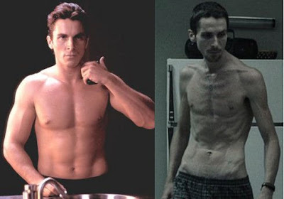 Christian Bale getting 'Supermodel Thin' for The Machinist