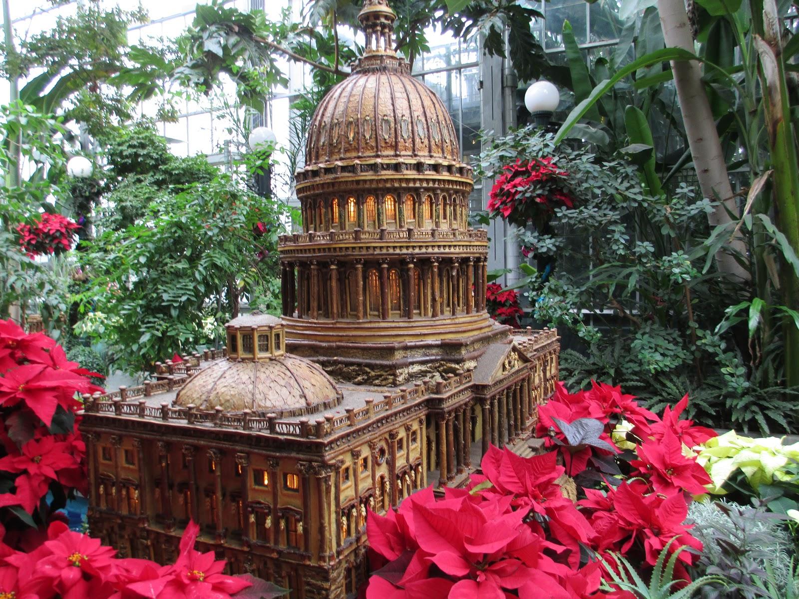 The Lernier Family Botanical Gardens Washington Dc December 2012