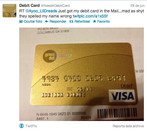 Codigo De Seguridad Tarjeta Visa