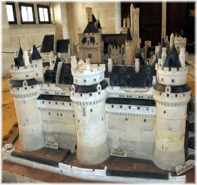 maquette du chteau de pierrefonds - Chateau De Pierrefonds Mariage