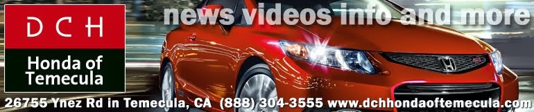 DCH Honda of Temecula News and Views