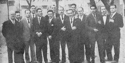 Equipo del Chardenet en 1957