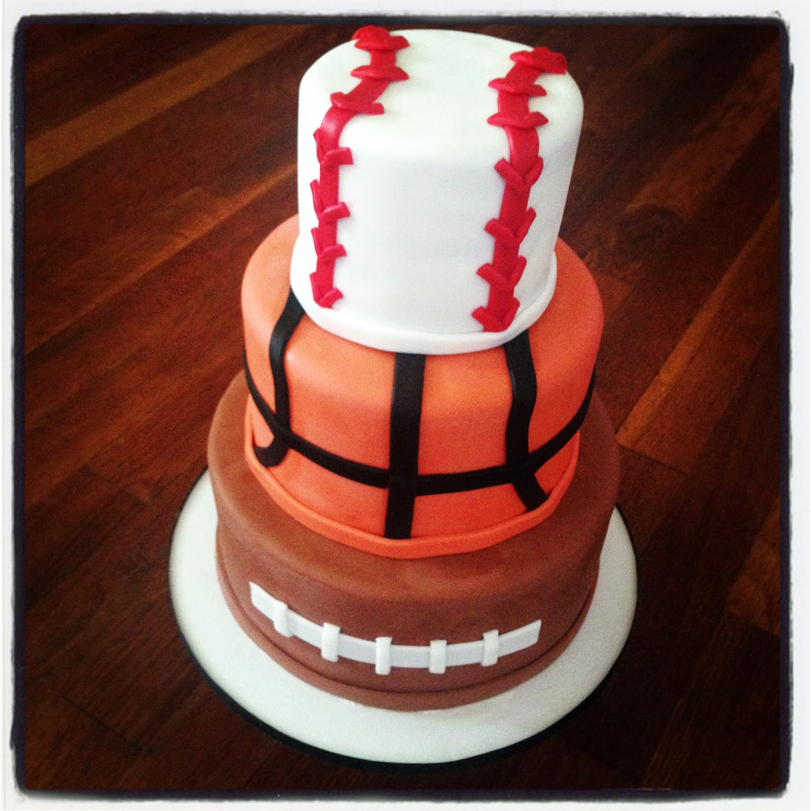 Cakes By Becky Sports Themed Birthday Cake