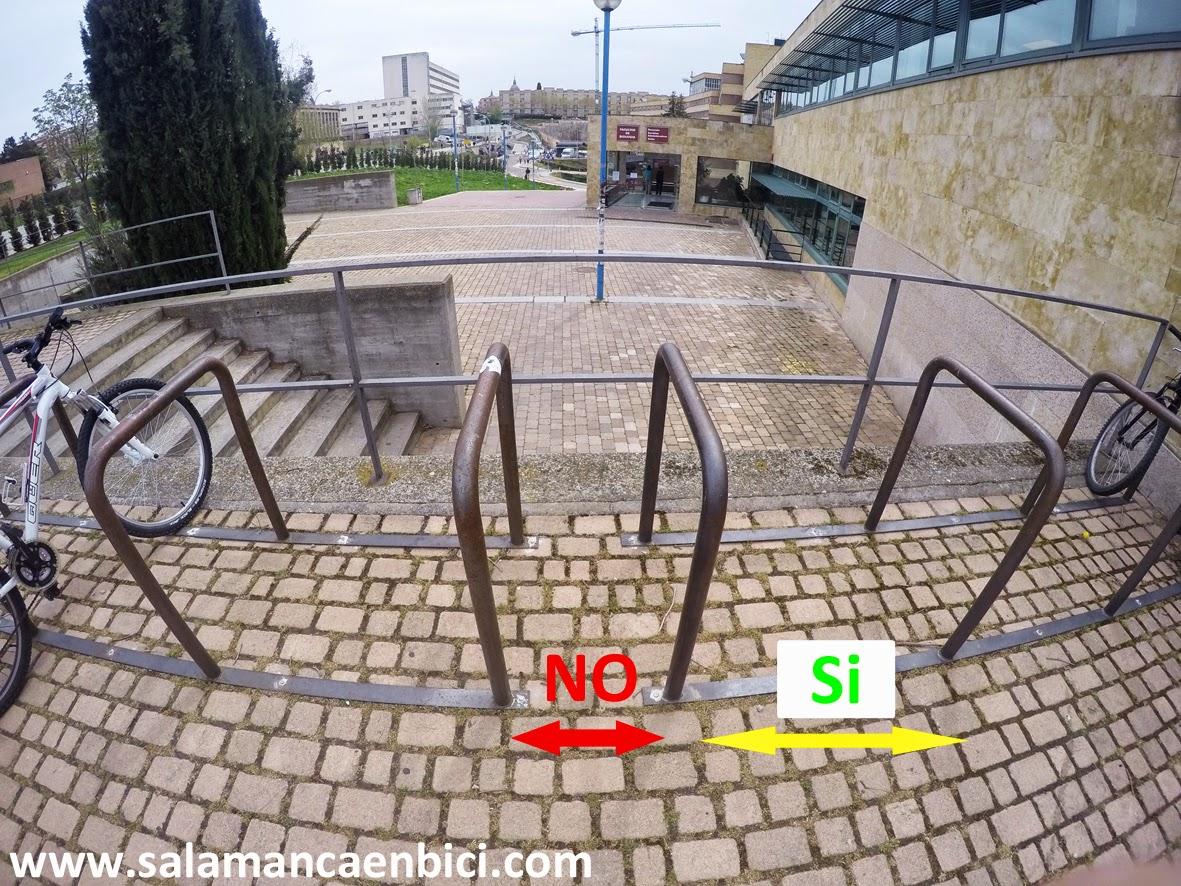 aparcamientos bici