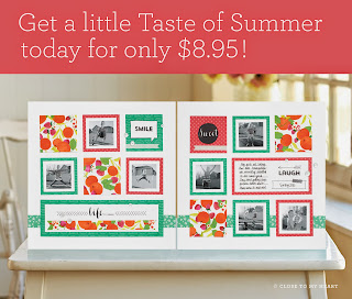 CTMH Taste Of Summer Paper Pack