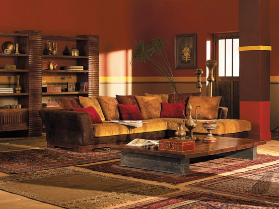Ethnic Indian Living Room Design Part 46