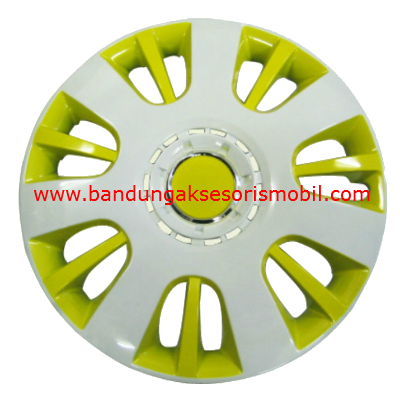 Dop Roda White+Yellow WJ-5065 (14)