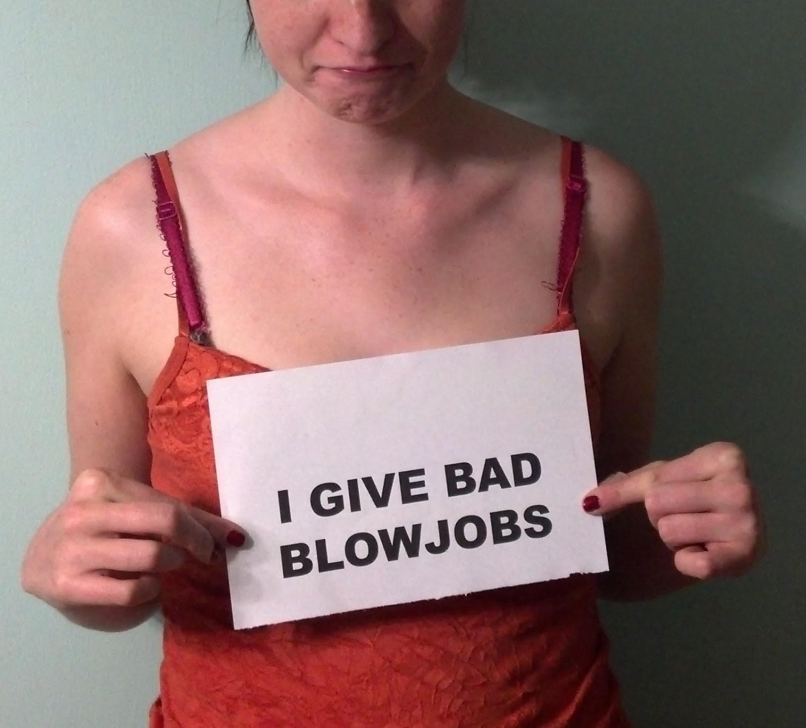 Girl giving smooth blow job