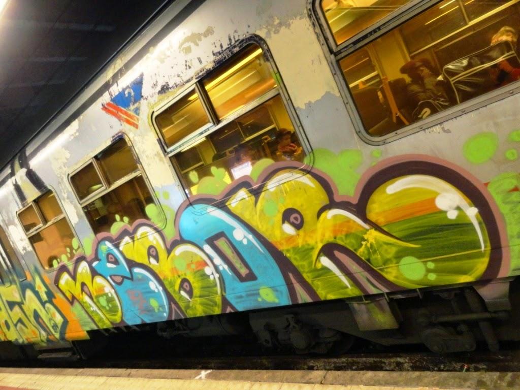 SNCB GRAFFITI NMBS