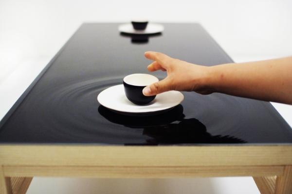 Ripple Effect Tea Table By JeongHwa Seo Hanna Chung