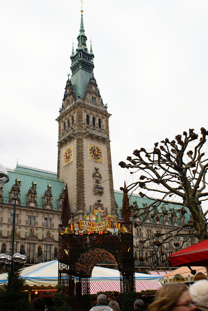 Christmas market Hamburg