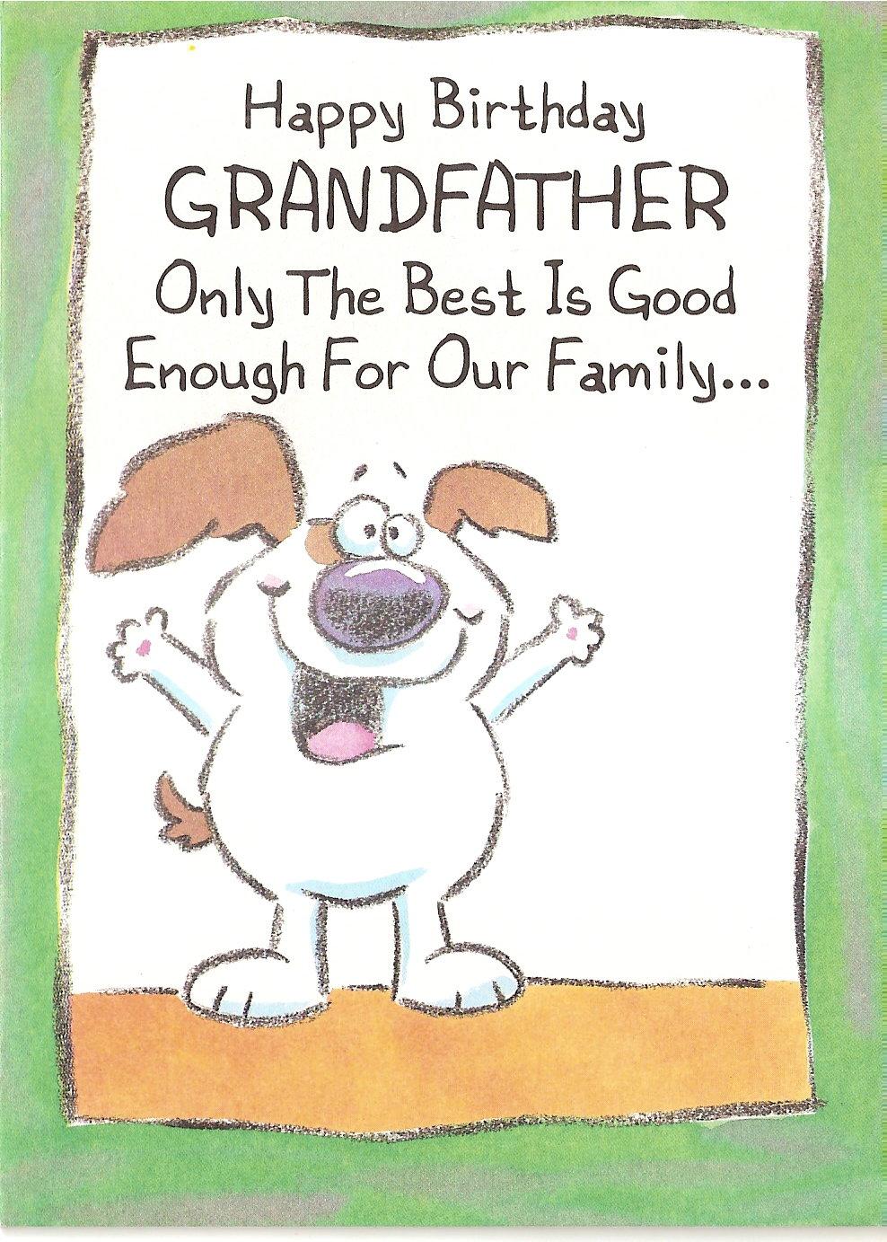 Shocking image regarding grandpa birthday card printable