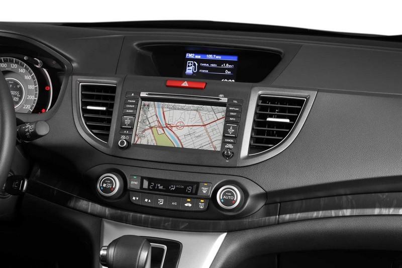 Nova Honda CR-V 2012/2013 painel tela lcd