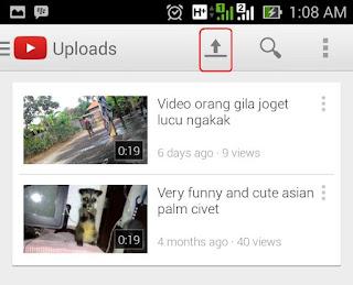Cara Memasukan Video ke Youtube dari HP3