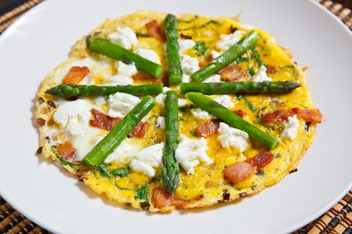 Ramp and Bacon Omelette with