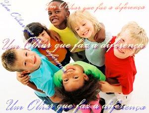 Olhe com afeto para todas as crianças