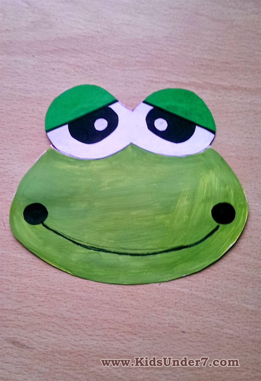 Сделать маленькую лягушку своими руками
