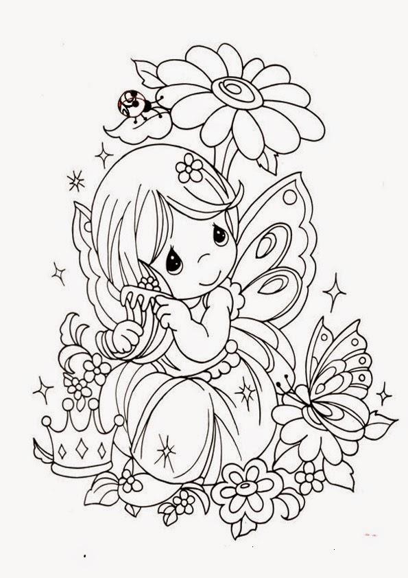 Maestra de Infantil: Dibujos para colorear de la primavera