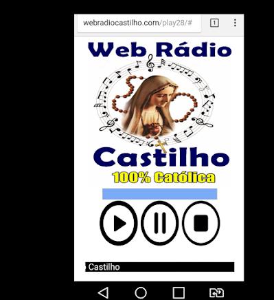 OUÇA A NOSSA WEB RÁDIO CASTILHO, TAMBÉM NO SEU CELULAR DIGITANDO www.webradiocastilho.com