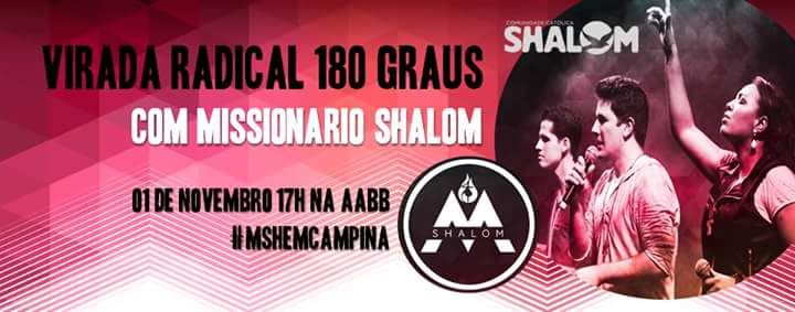 Obra Shalom de Campina Grande - PB