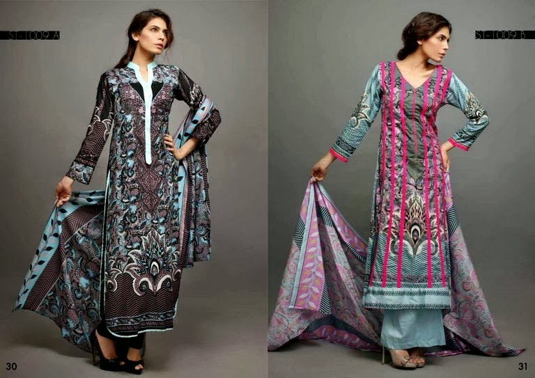 Riwaj Lawn Collection 2014 Vol-1