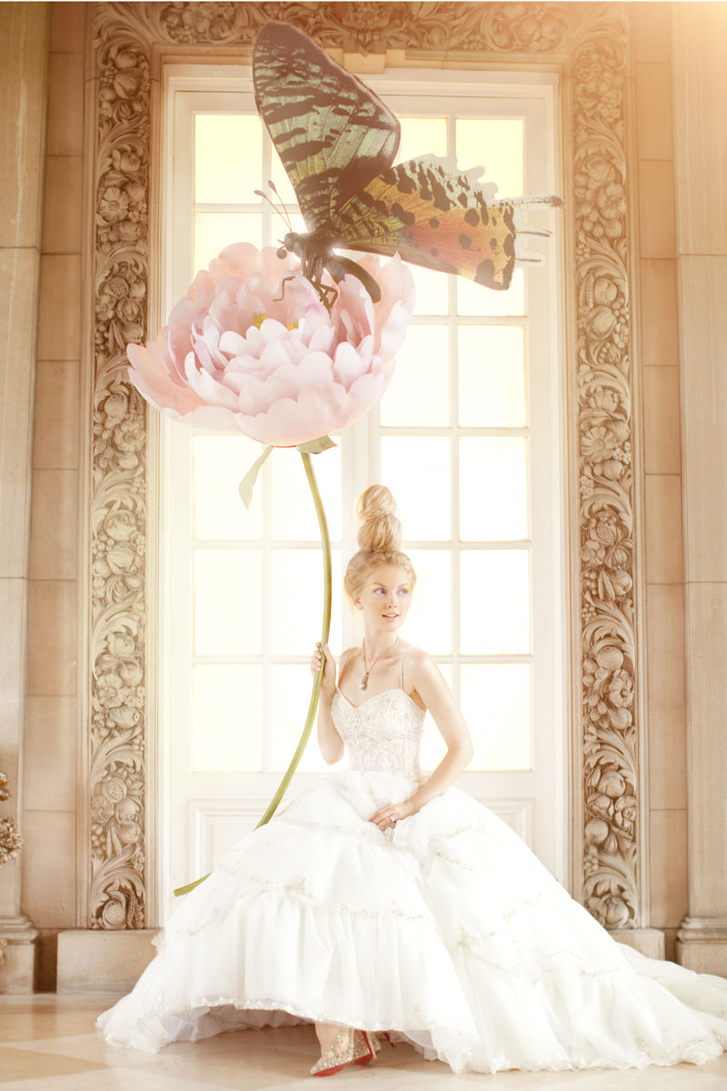 via fashioned by love | Brides December 2010 (photography: Amber Grey, styling: Rachel Leonard)
