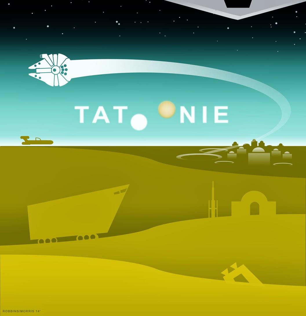Tatoonie from Star War Universe by Darian Robbins and Steve Morris