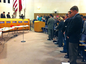 Interfaith initiative - Pluralism Prayers at Carrollton City Hall