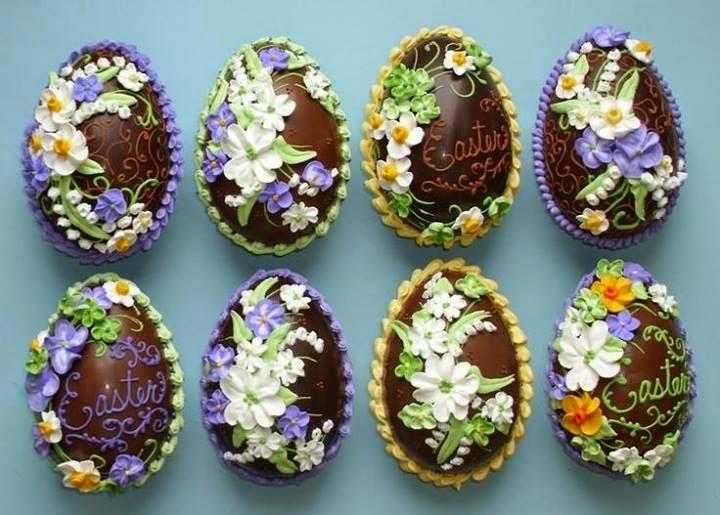 Ideas deco tortas huevos de pascuas - Huevos decorados de pascua ...