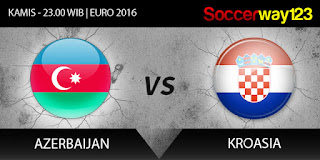 Azerbaijan vs Kroasia Kualifiasi Euro 2016 Grup H