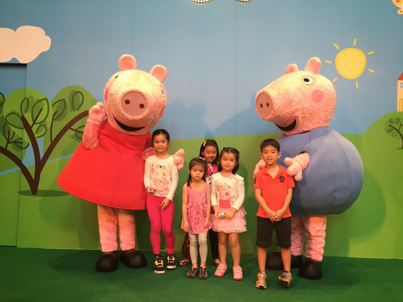 The Tans Diary March Holidays Part 4 Peppa Pig Meet Greet