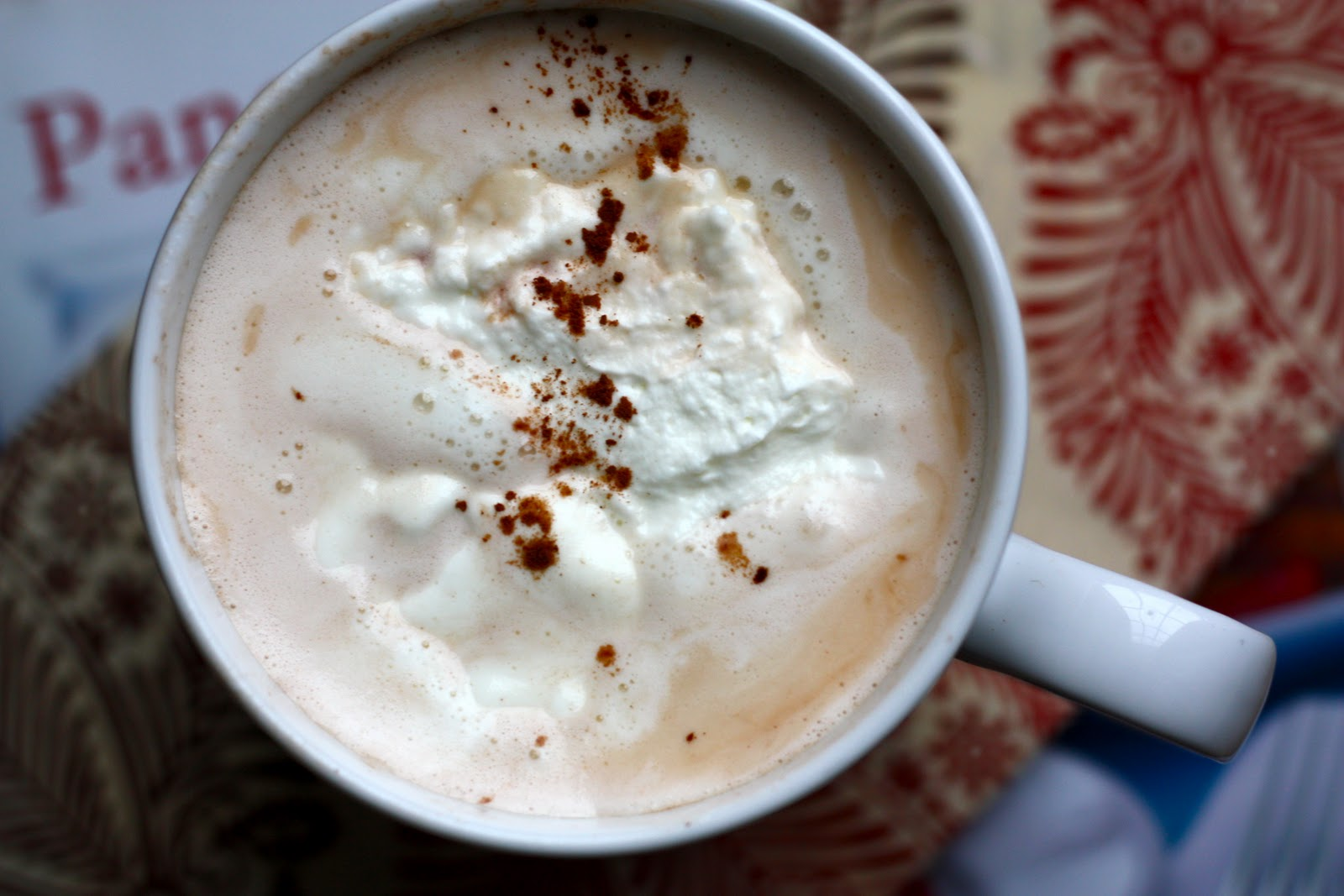 eats and beats: Classic Hot Chocolate and Whipped Cream