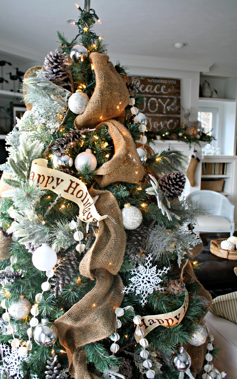 O Christmas Tree - The Lilypad Cottage