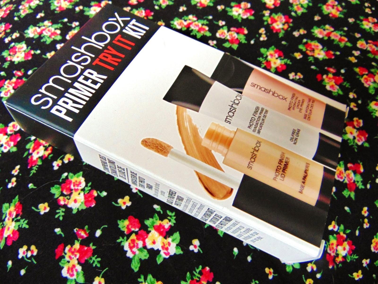 smashbox primer try it kit sample