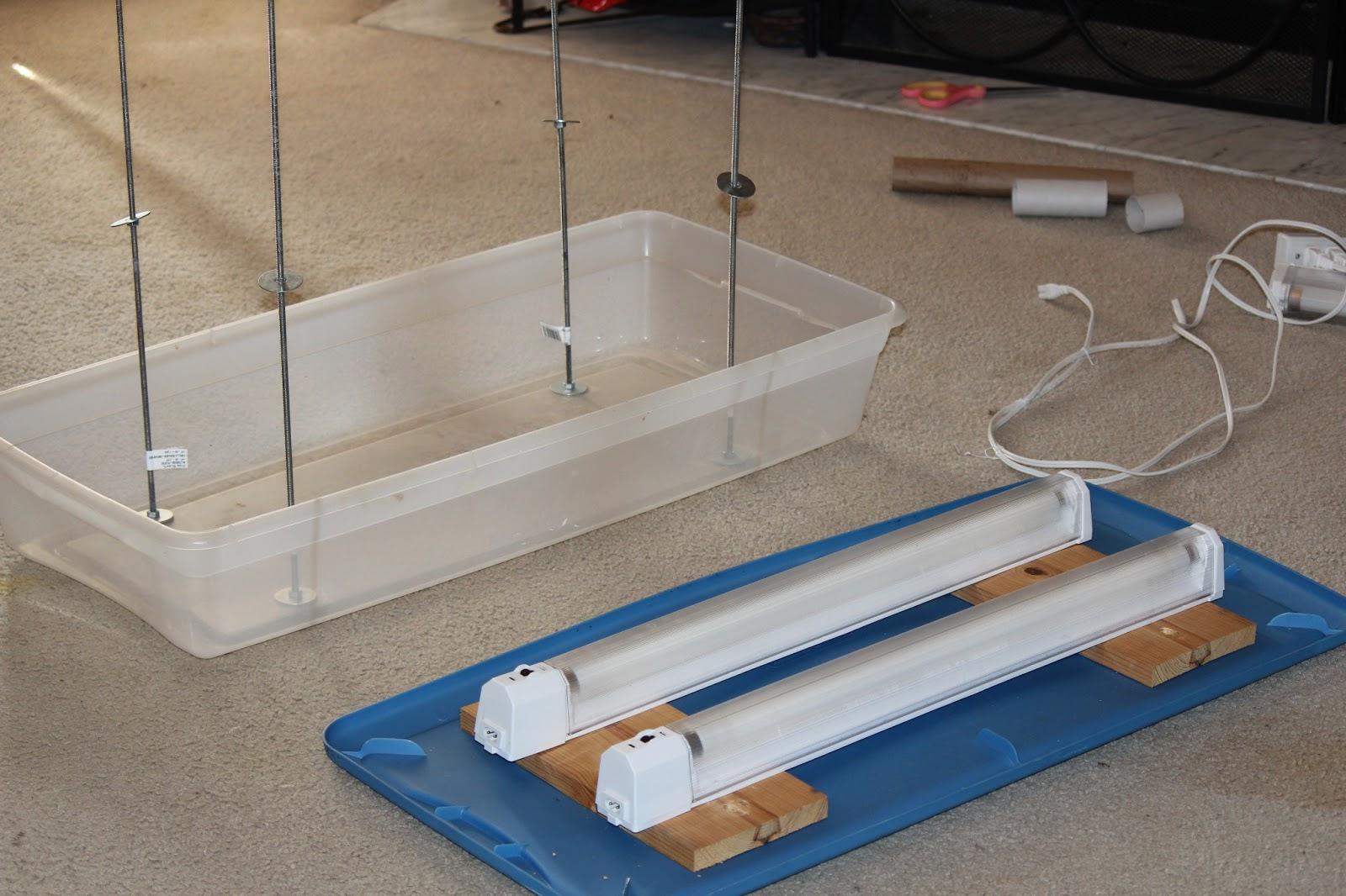 Simpler times mini indoor greenhouse for Build indoor greenhouse