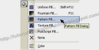 Pattern Fill Corel Draw, Pattern Fill CorelDraw