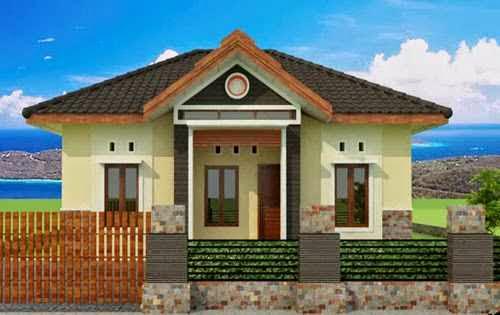 gambar rumah pedesaan