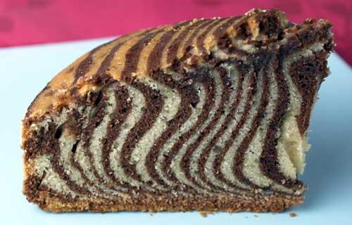 Zebra Cake | FOOD DIARIES