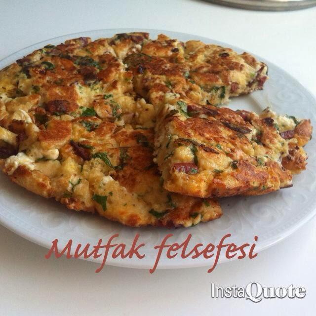 ekmekli omlet