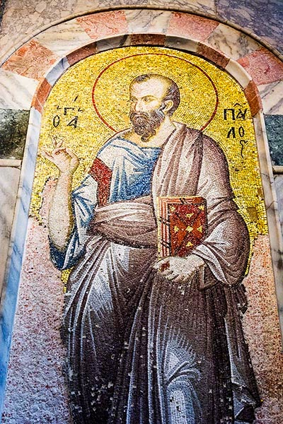 Chora Mosaic of St. Paul