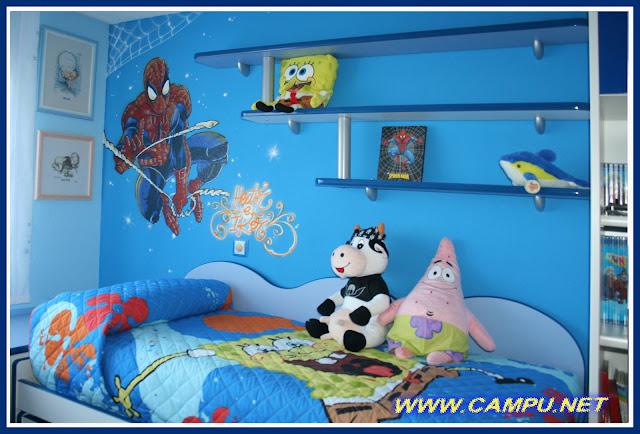 Campu net dise o pintura aerografia e ilustracion - Diseno habitaciones infantiles ...
