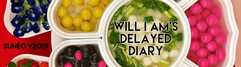 will i am's delayed diary