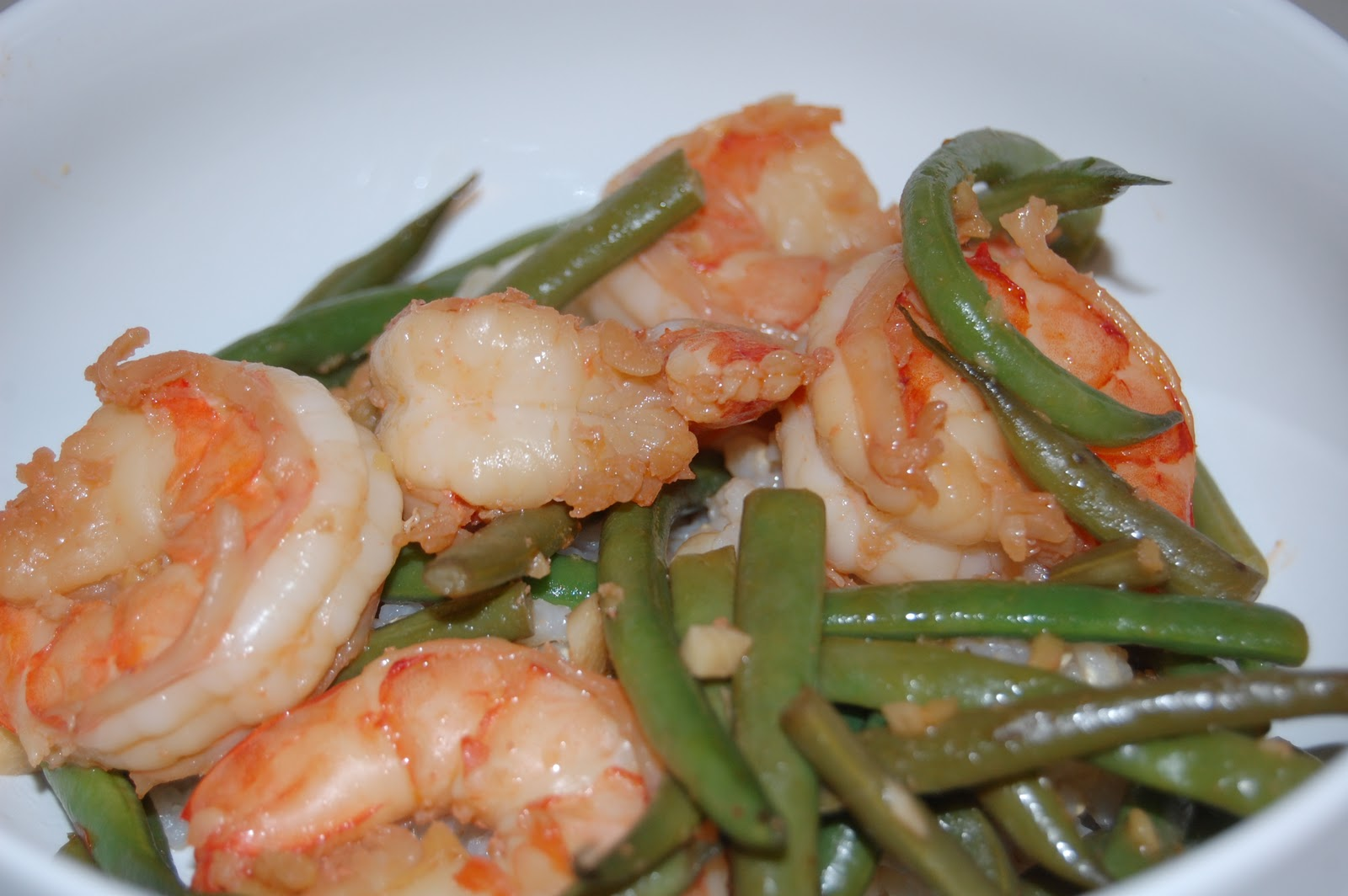 Kitchen Groovy: Stir-Fried Shrimp & Asparagus