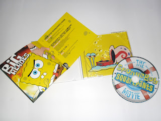adrian cd collection the spongebob squarepants movie