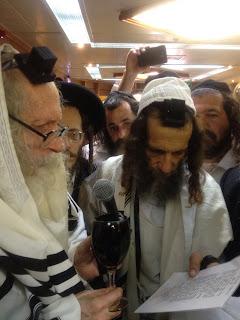 הרב עופר ארז עם הרב אליעזר ברלנד
