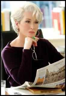Meryl Streep en El diablo se viste de Prad