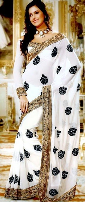 Ethnic Monochrome Variety of Saree by Utsav